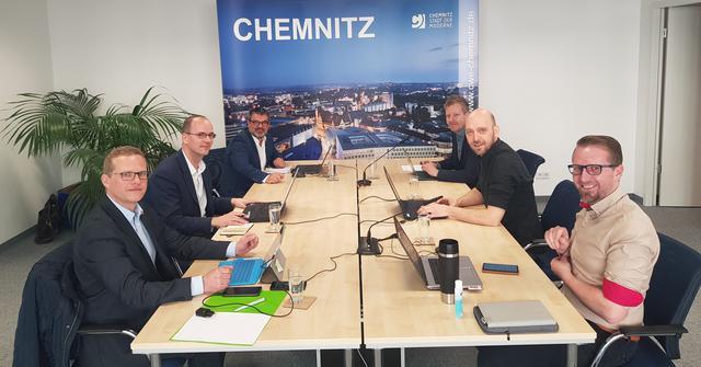Gemeinsame Webinare von CWE, IHK, HWK und DGB in Chemnitz