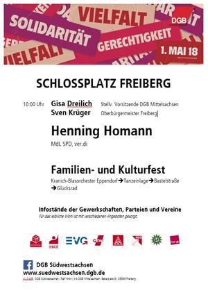 1. Mai Freiberg