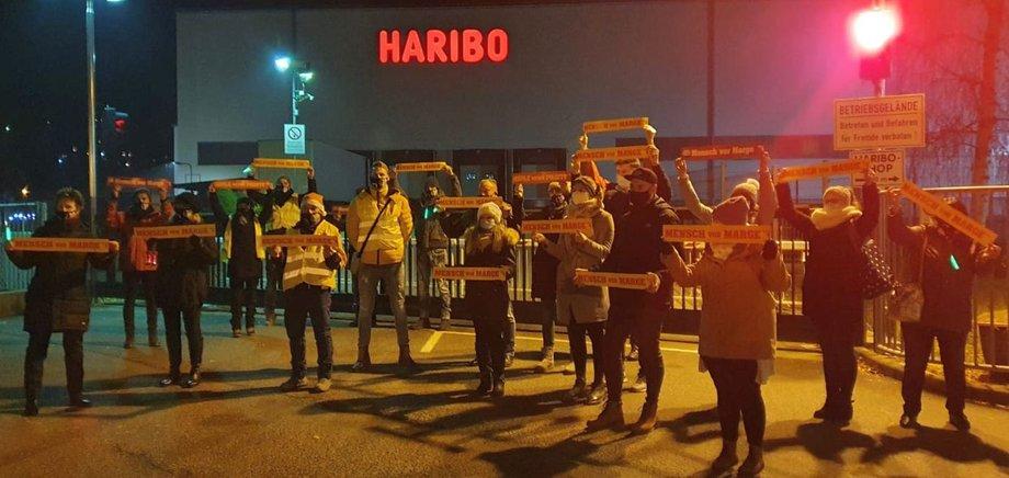 HARIBO Protest am 6.12.2020