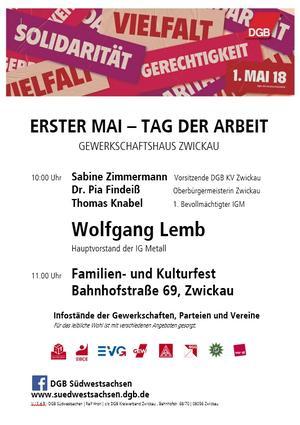 1. Mai Zwickau