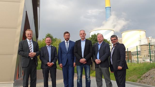 Mit Martin Dulig bei eins-energie Chemnitz