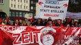 Tarifauftakt der Metall- und Elektroindustrie am 04.11.2017 in Zwickau